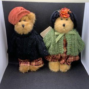 RARE - Boyds Bears Edmund and Bailey